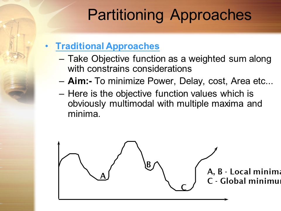 Partitioning Approaches