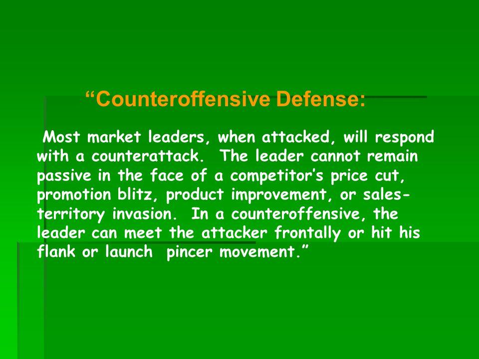 Counteroffensive Defense: