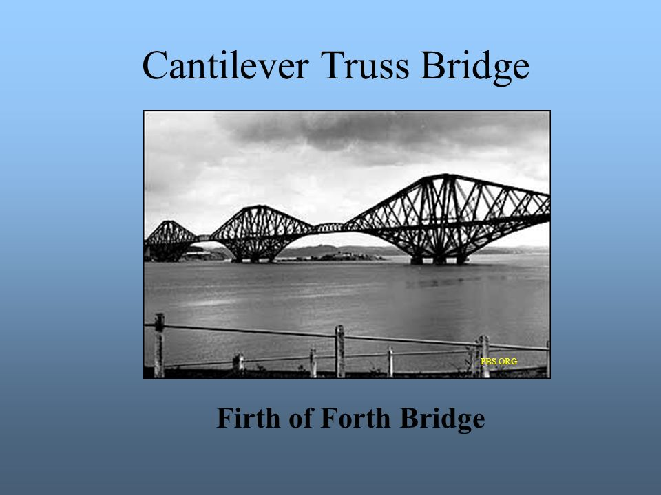 Cantilever Truss Bridge