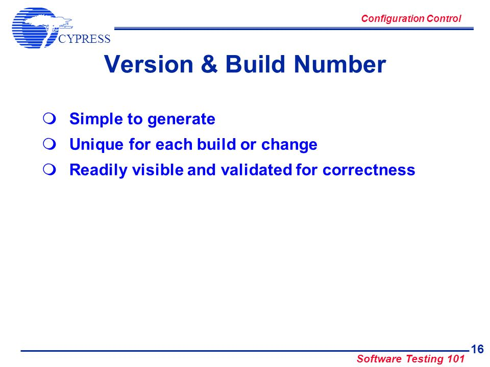 Version & Build Number Simple to generate