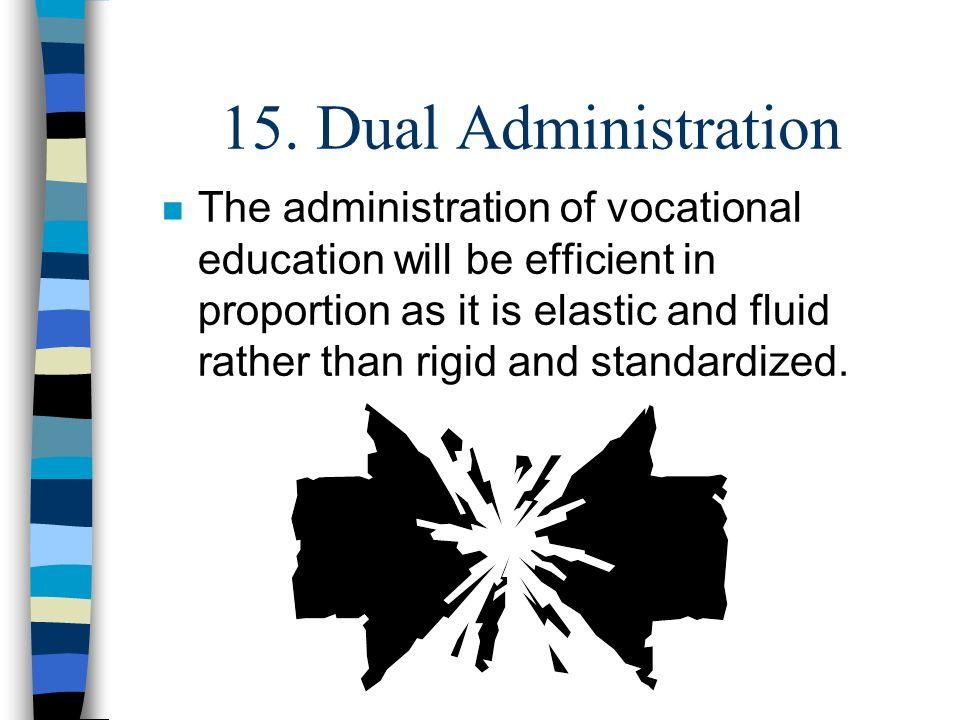 15. Dual Administration