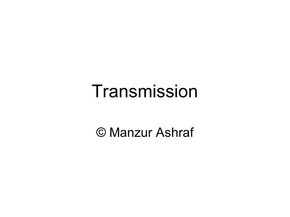 Transmission © Manzur Ashraf