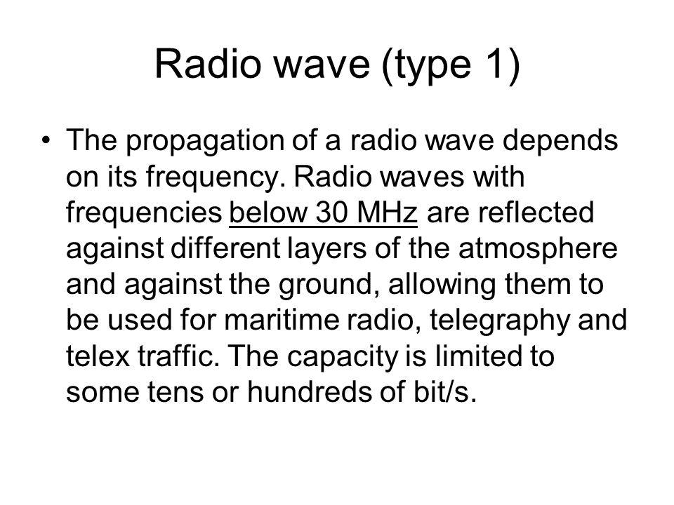 Radio wave (type 1)