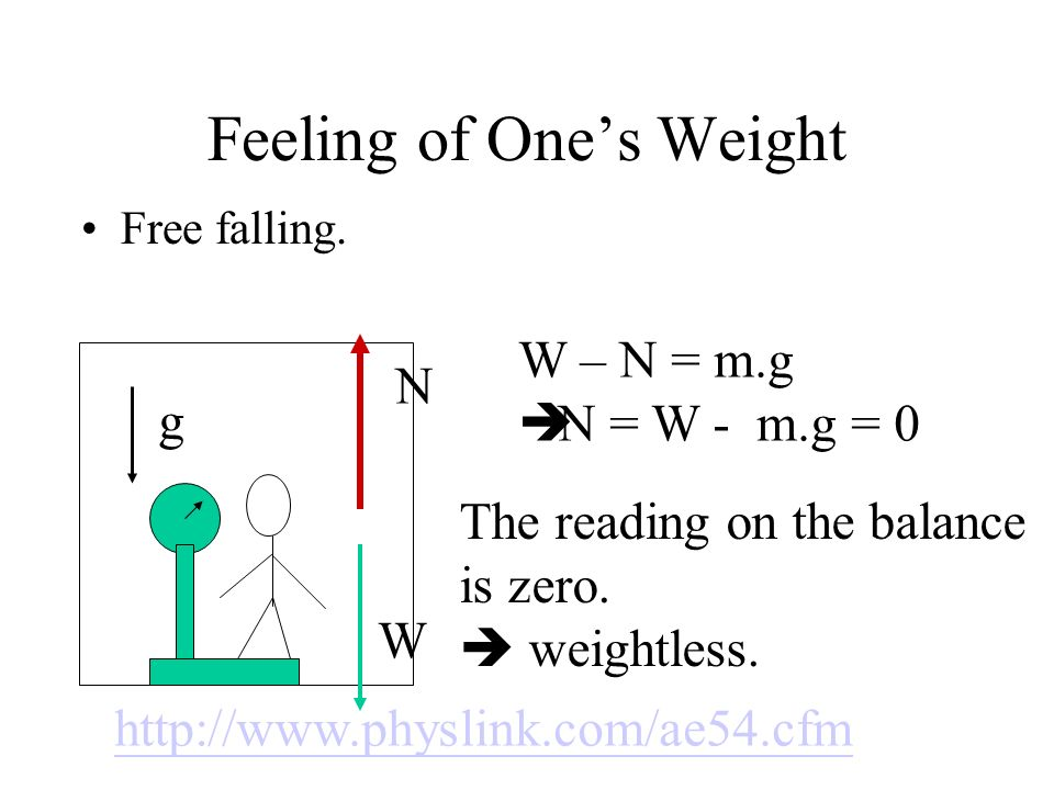 Feeling of One's Weight