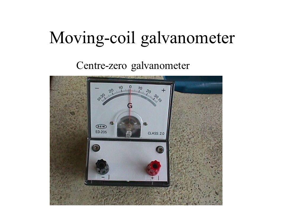 Moving-coil galvanometer