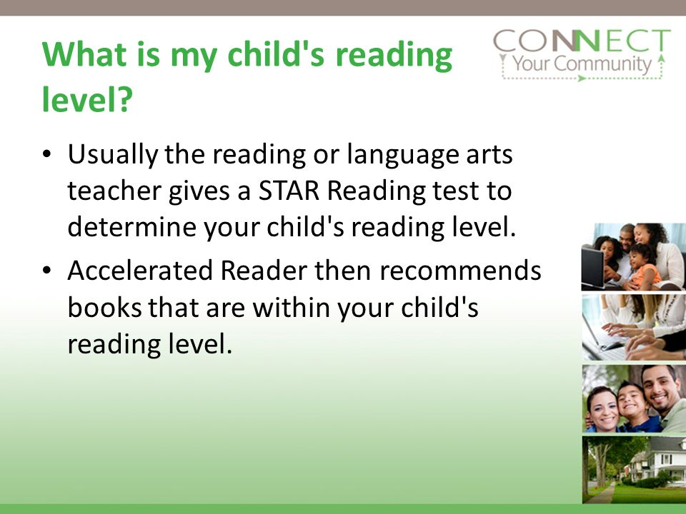 What is my child s reading level