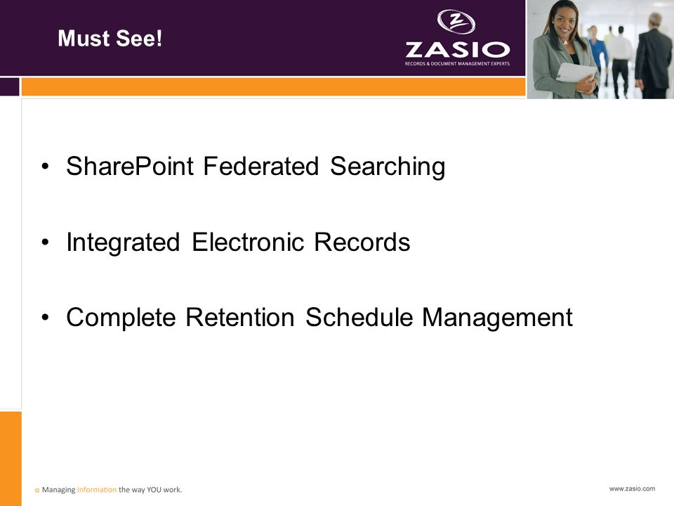 SharePoint Federated Searching Integrated Electronic Records