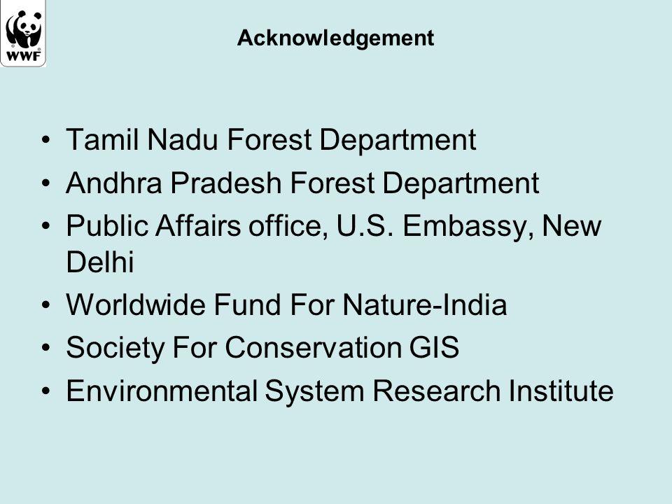 Tamil Nadu Forest Department Andhra Pradesh Forest Department