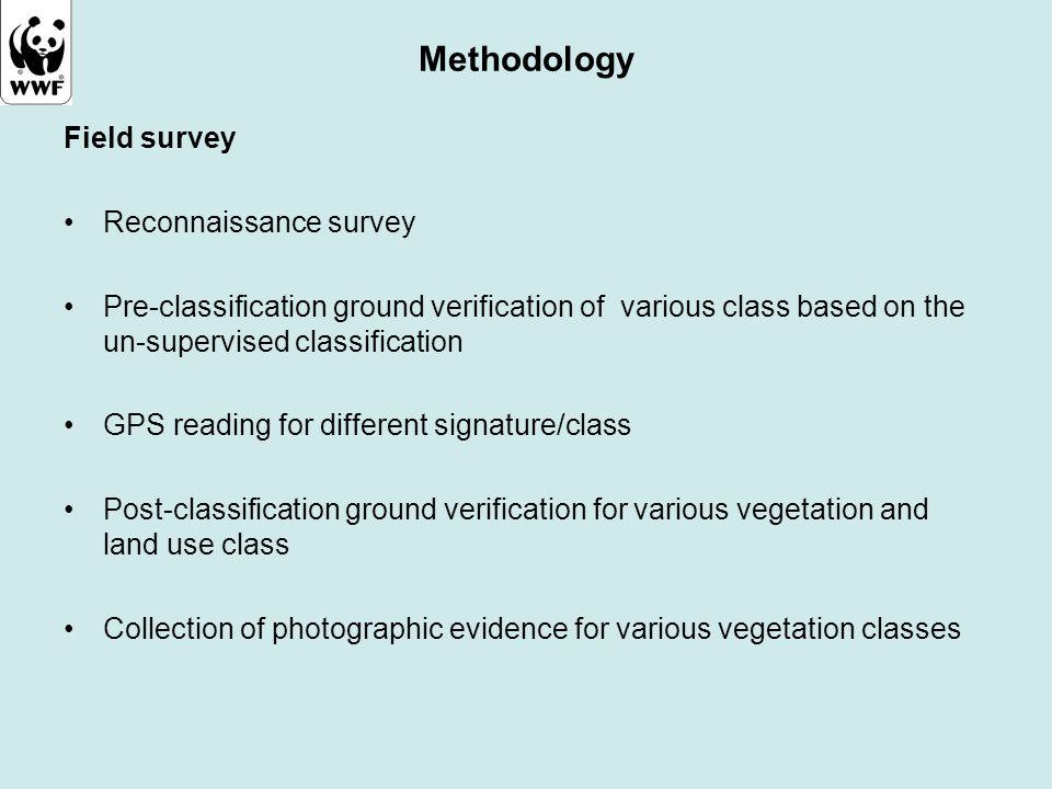Methodology Field survey Reconnaissance survey