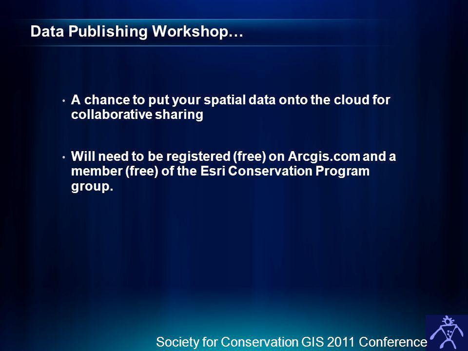 Data Publishing Workshop…