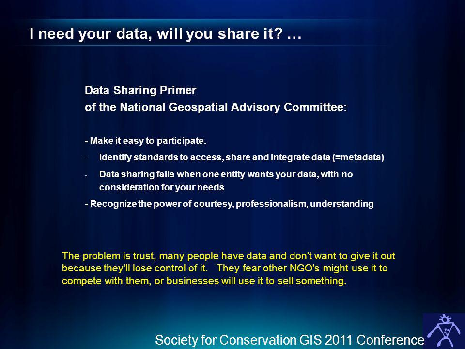 I need your data, will you share it …