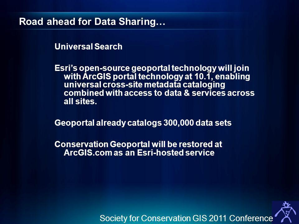Road ahead for Data Sharing…