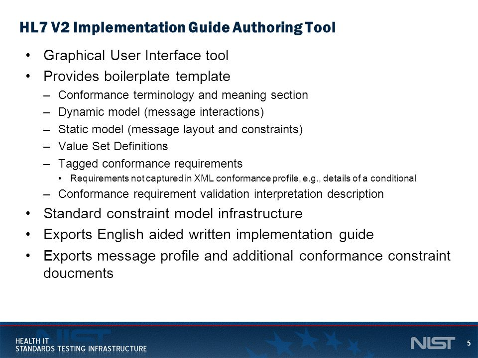 HL7 V2 Implementation Guide Authoring Tool