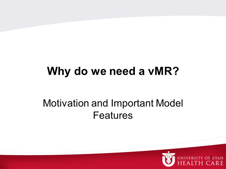 Motivation and Important Model Features
