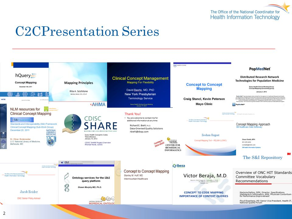 C2CPresentation Series