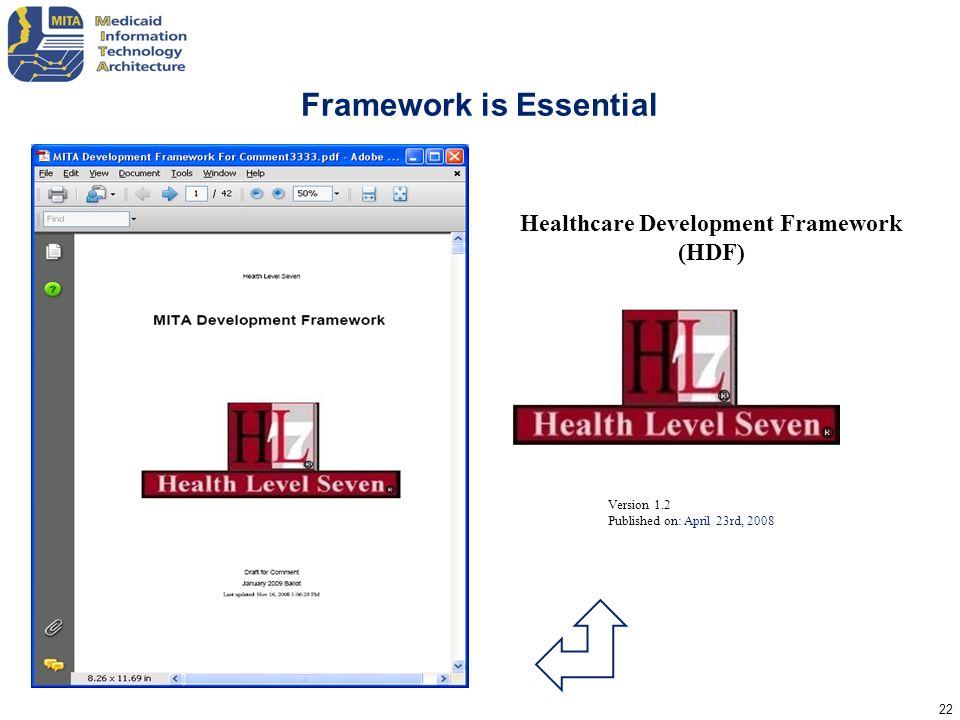 Framework is Essential