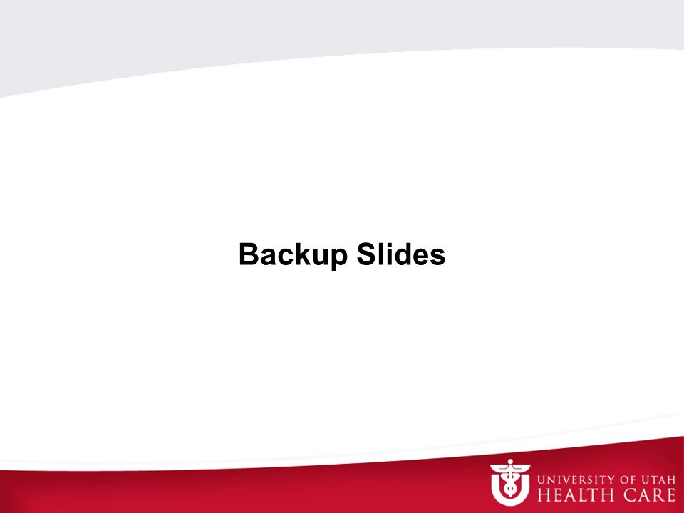 Backup Slides SCT 14May