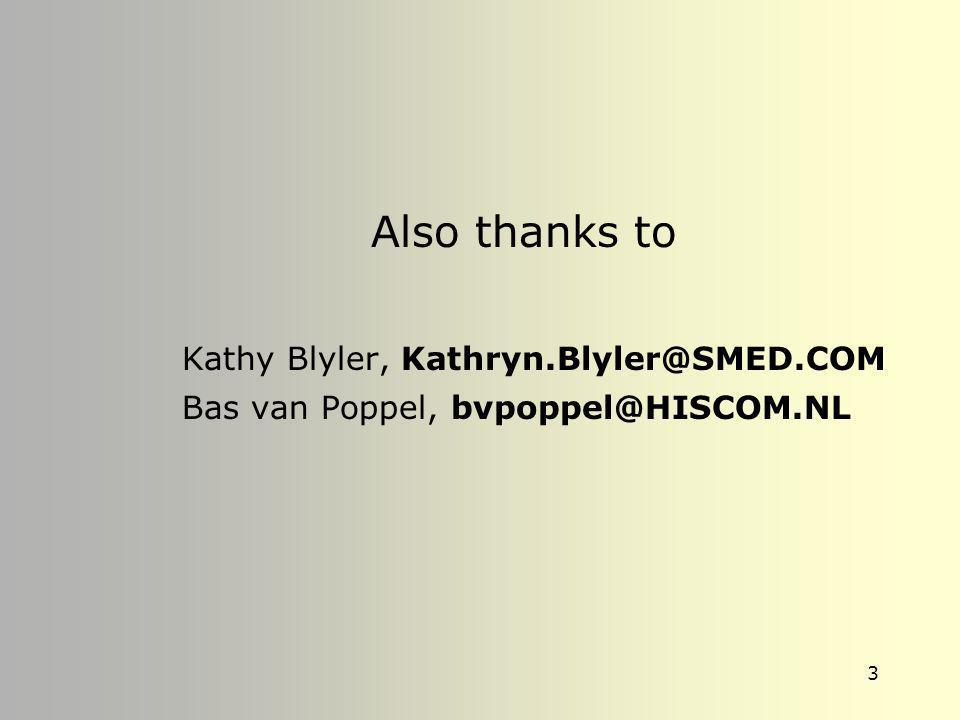Kathy Blyler, Kathryn.Blyler@SMED.COM