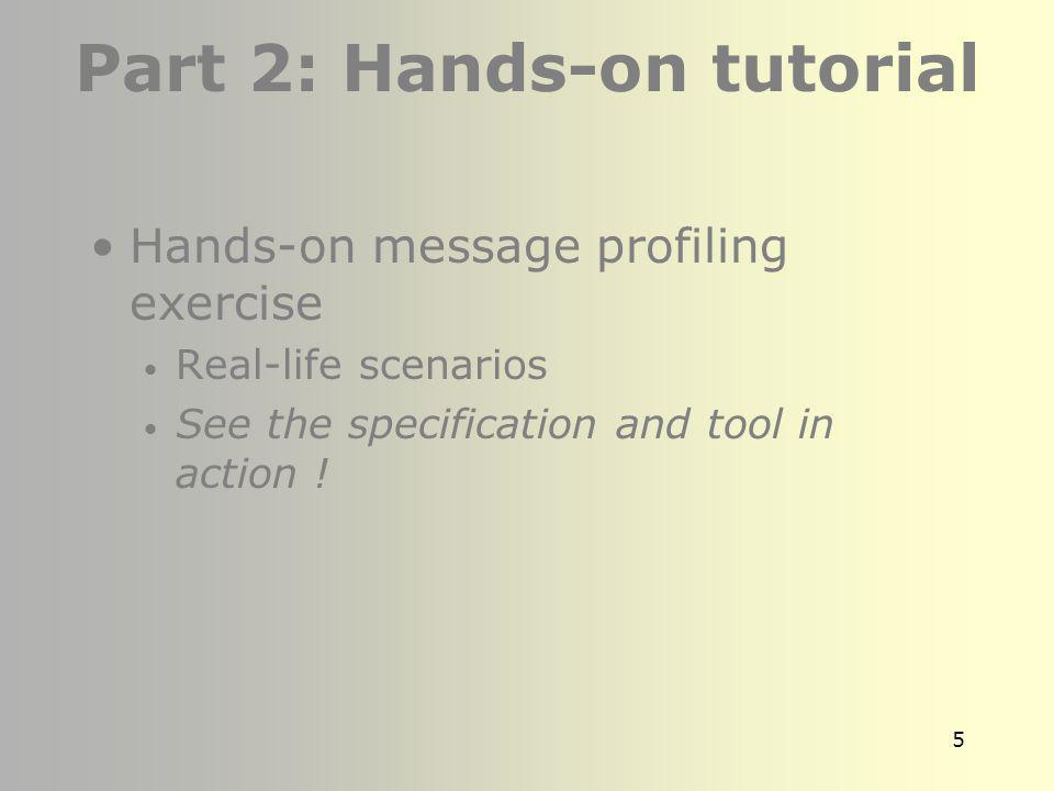 Part 2: Hands-on tutorial
