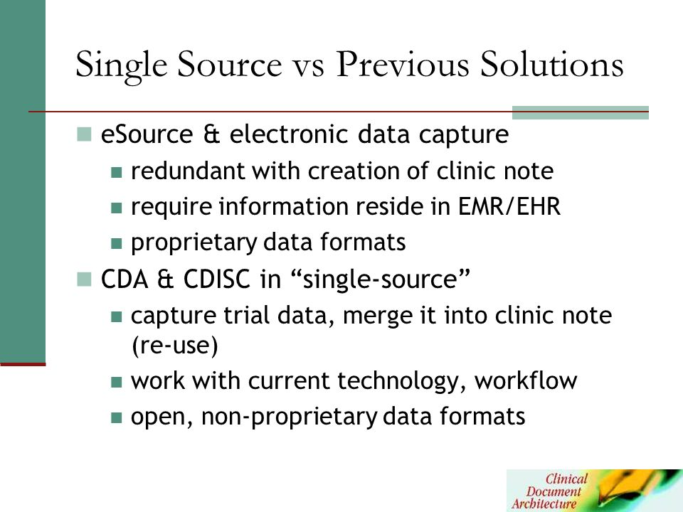 Single Source vs Previous Solutions