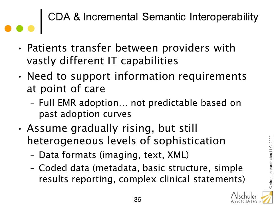 CDA & Incremental Semantic Interoperability
