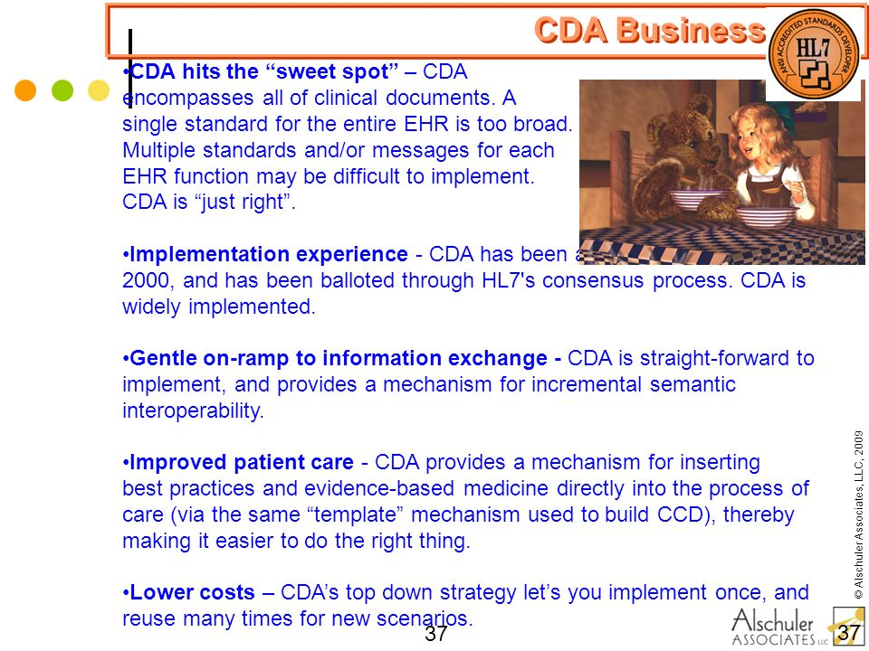 CDA Business Case