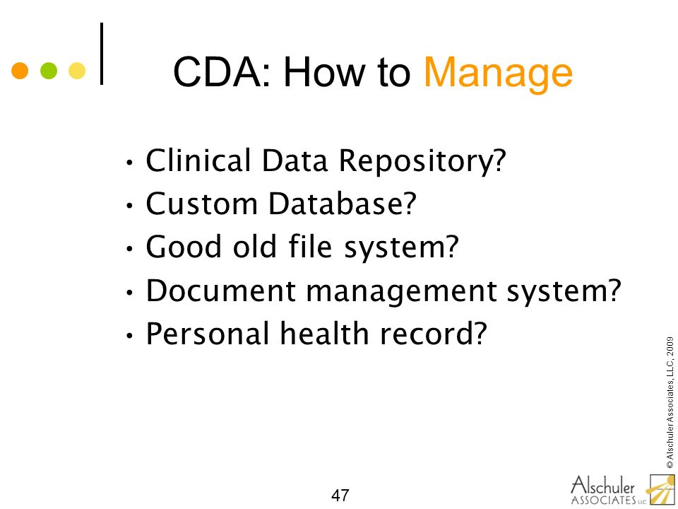 CDA: How to Manage Clinical Data Repository Custom Database