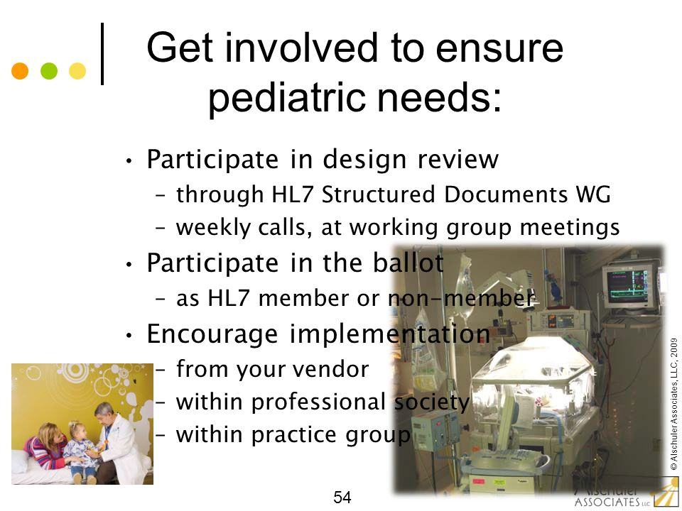 Get involved to ensure pediatric needs: