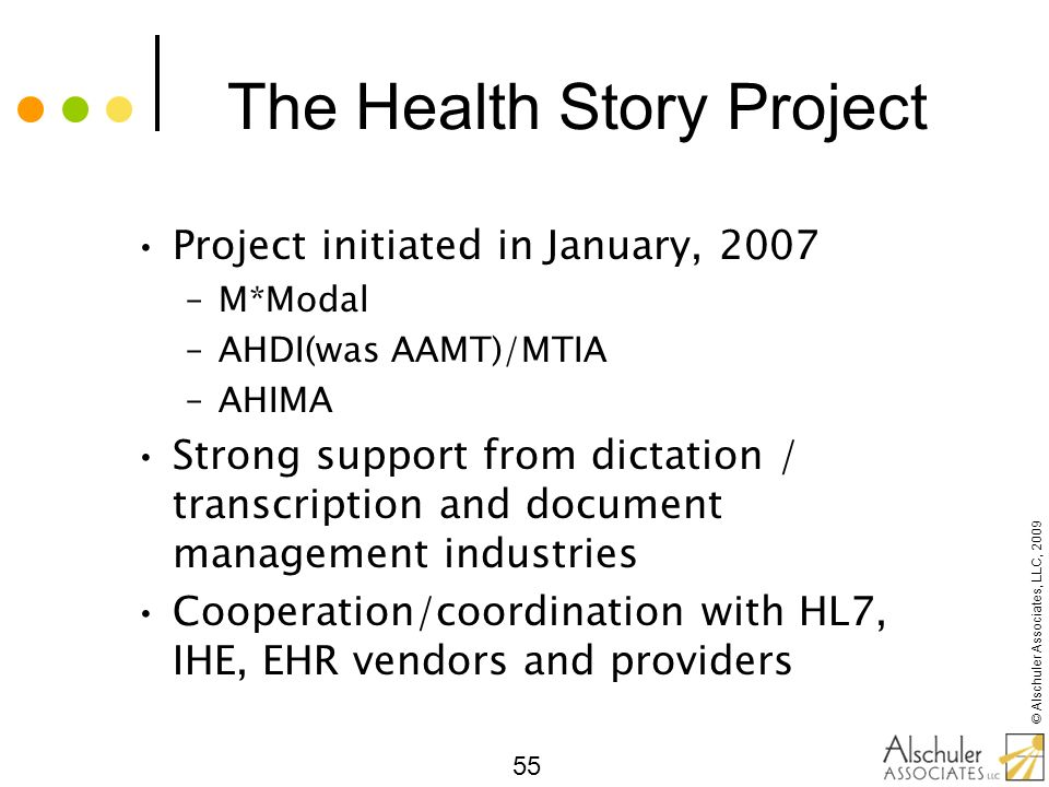 The Health Story Project