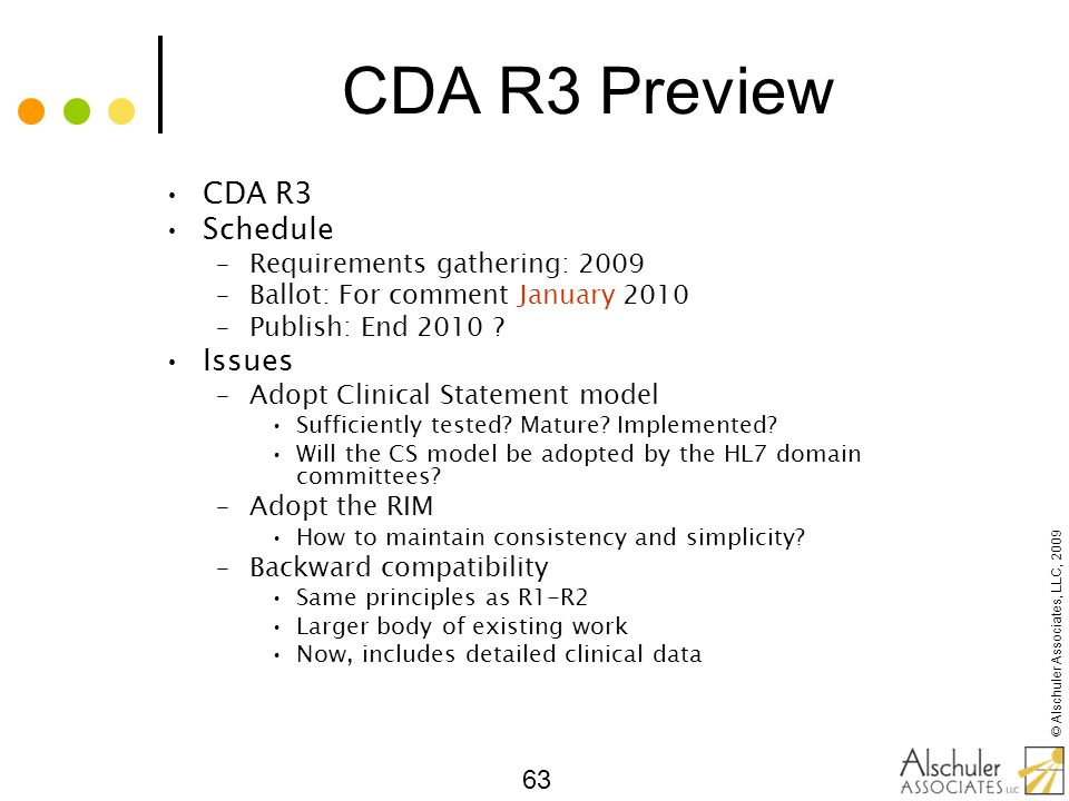 CDA R3 Preview CDA R3 Schedule Issues Requirements gathering: 2009