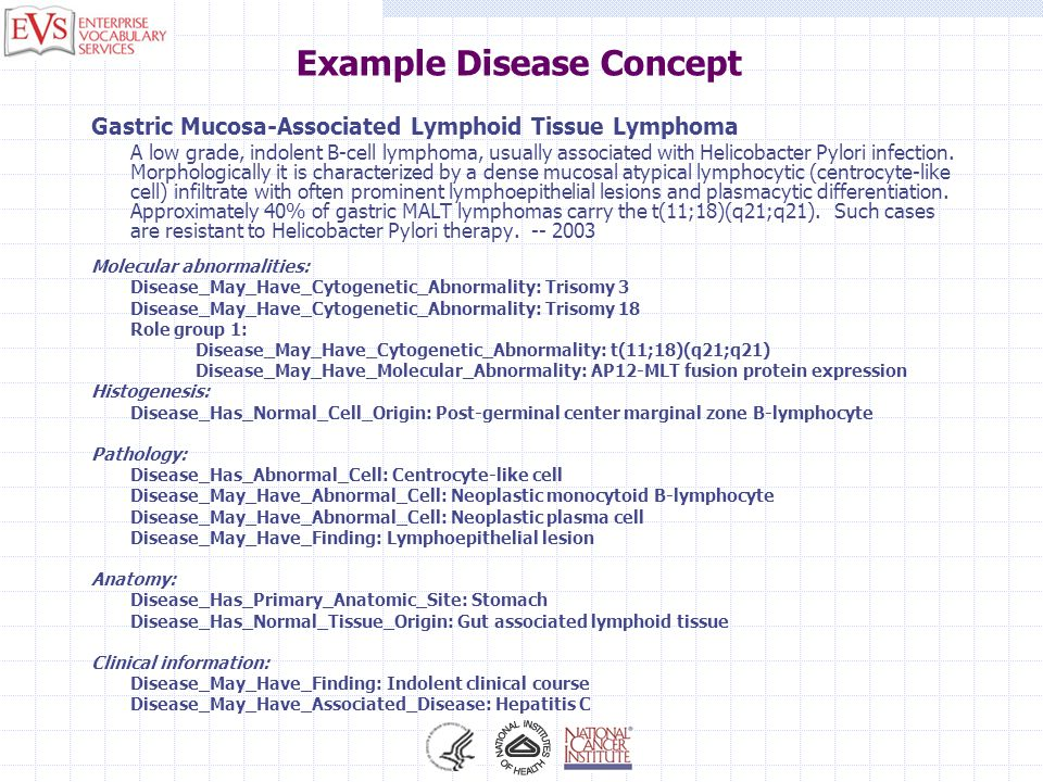 Example Disease Concept