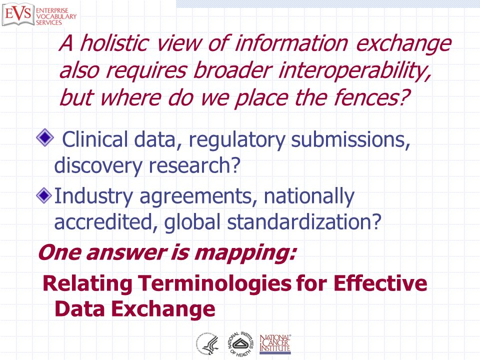 Clinical data, regulatory submissions, discovery research