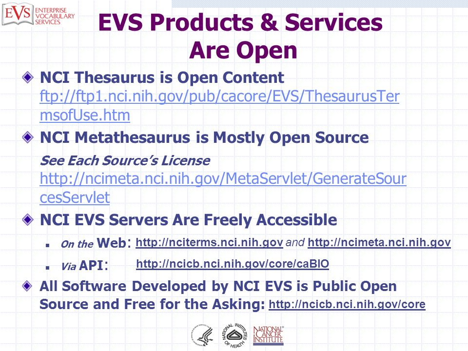 EVS Products & Services Are Open