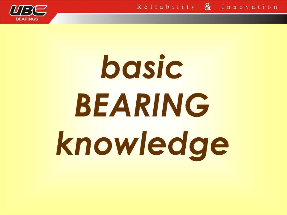 basic BEARING knowledge