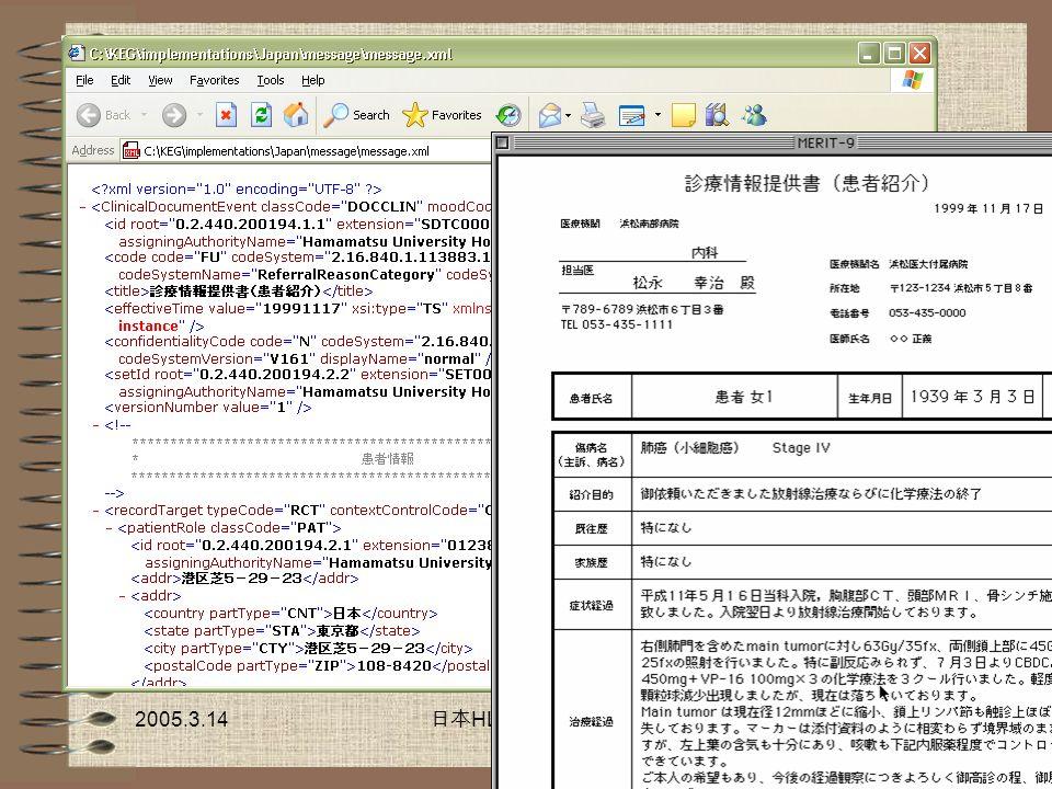 日本HL7協会情報教育担当リーダー 東芝住電医療情報システムズ(株) 村上 英
