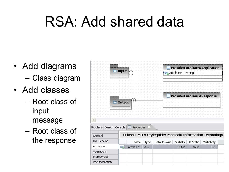 RSA: Add shared data Add diagrams Add classes Class diagram