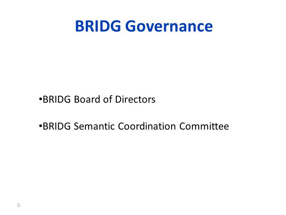 BRIDG Governance BRIDG Board of Directors