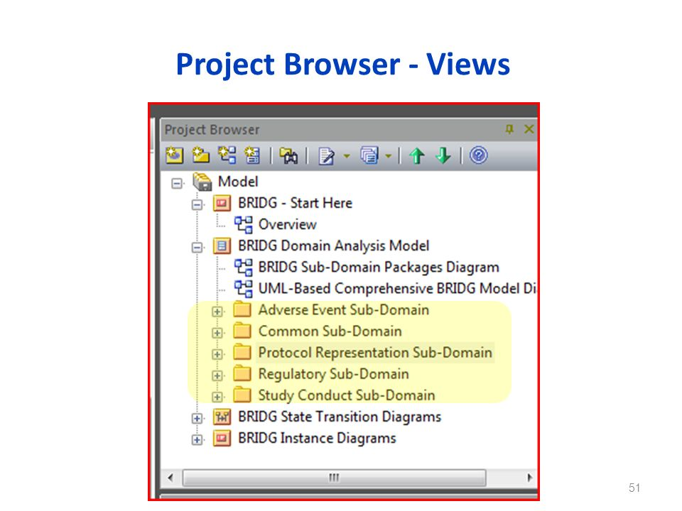 Project Browser - Views