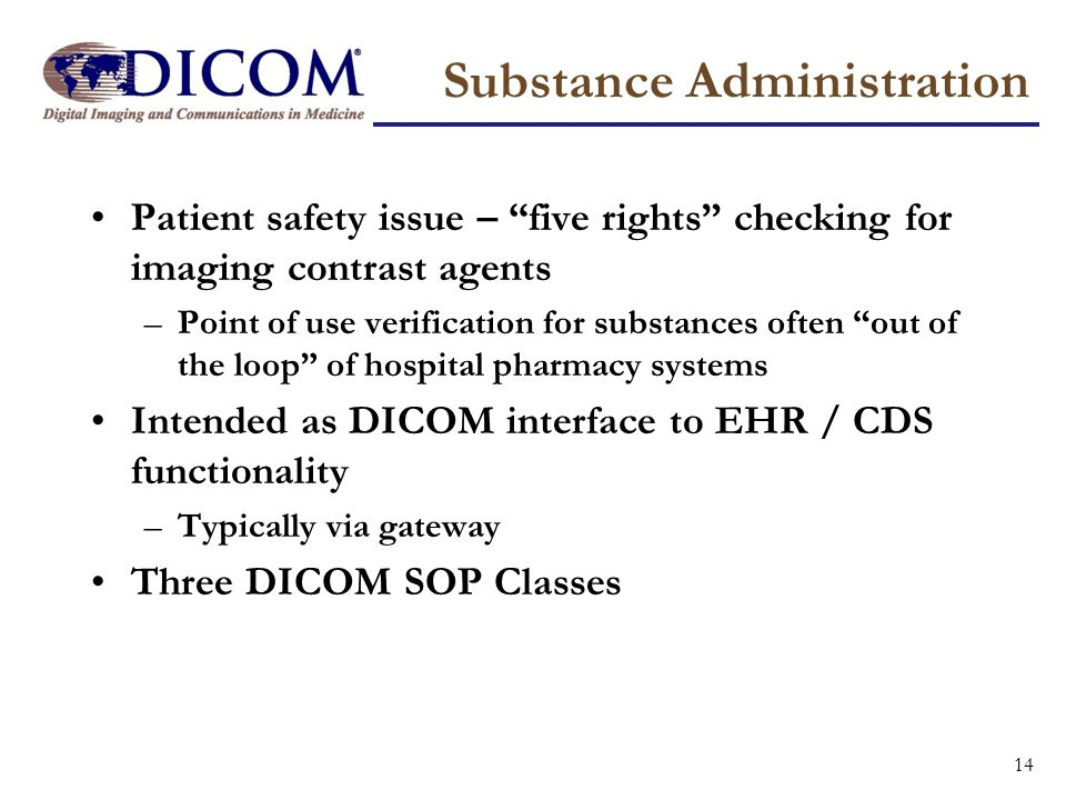 Substance Administration