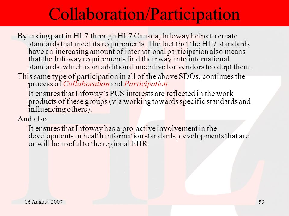 Collaboration/Participation