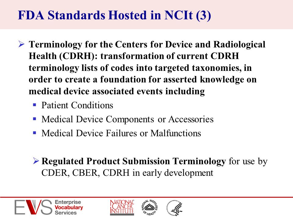 FDA Standards Hosted in NCIt (3)