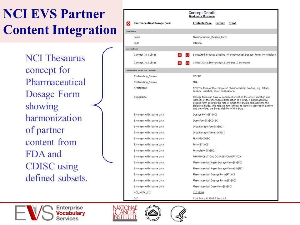 NCI EVS Partner Content Integration