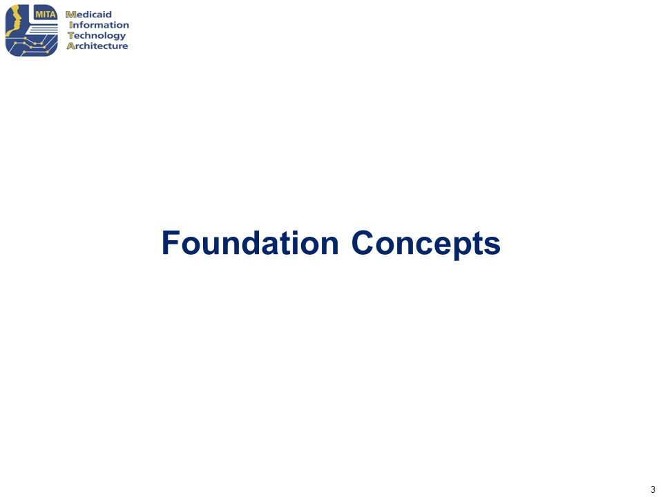 Foundation Concepts