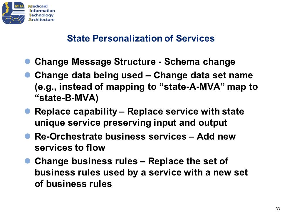 State Personalization of Services