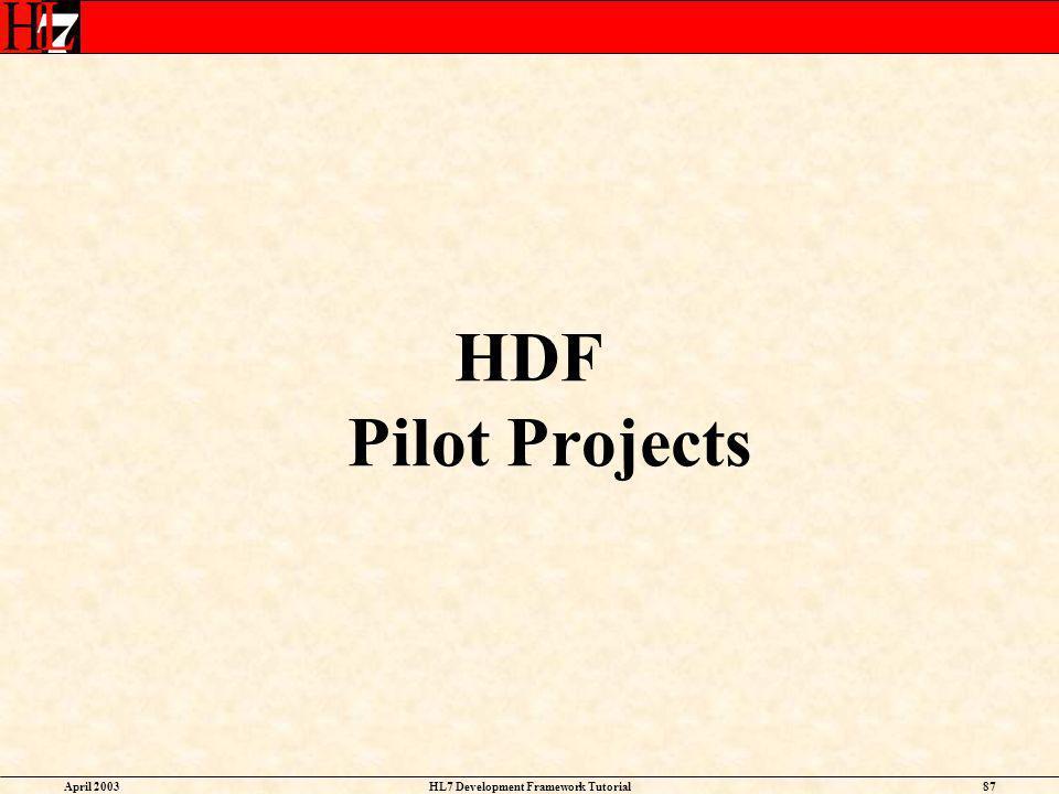 HL7 Development Framework Tutorial
