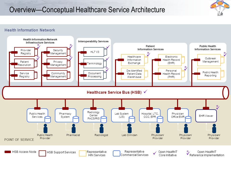 Overview—Conceptual Healthcare Service Architecture