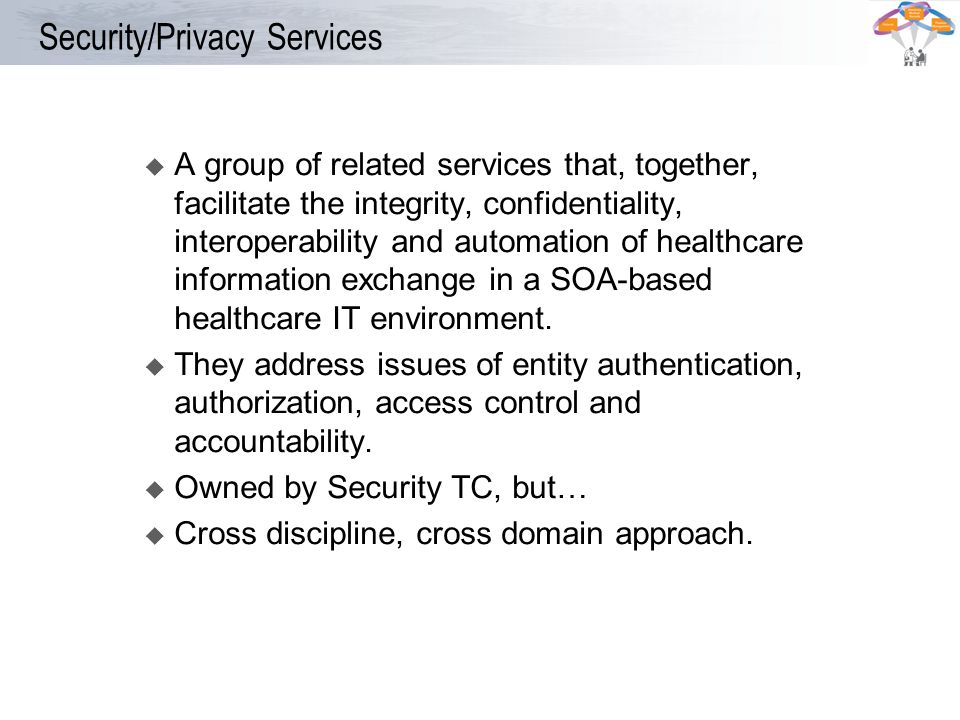 Security/Privacy Services