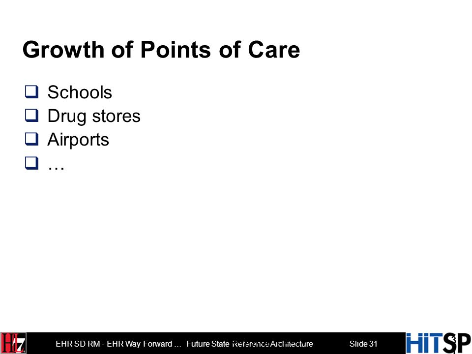 Growth of Points of Care