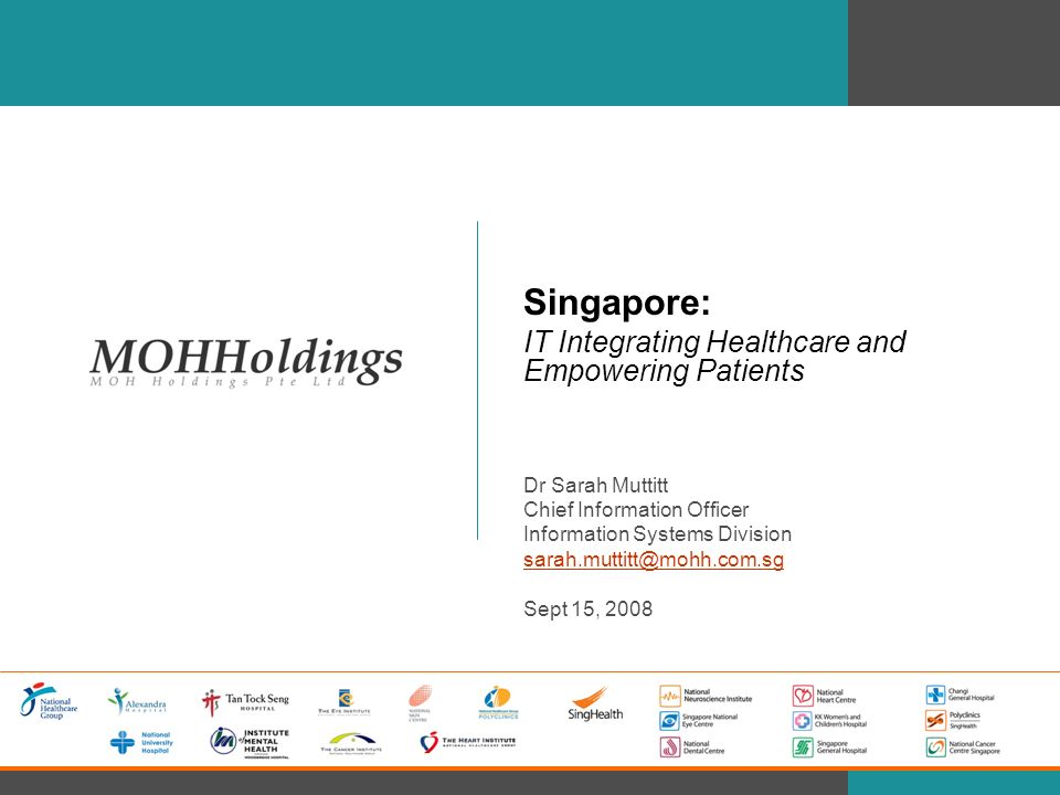 Singapore: IT Integrating Healthcare and Empowering Patients