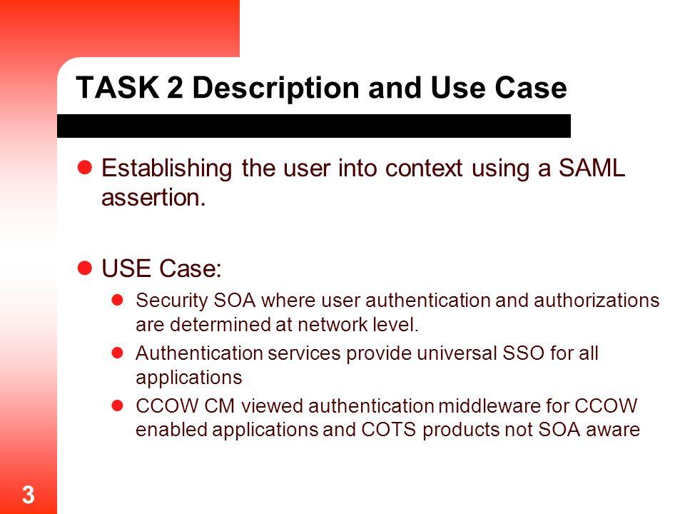 TASK 2 Description and Use Case